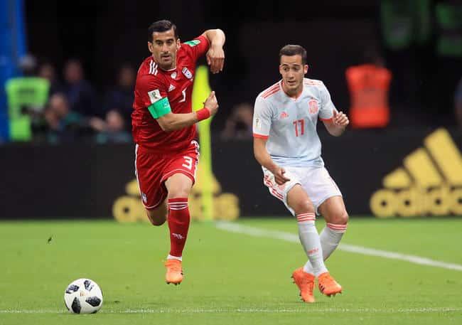 maillots-football-espagne-iran-coupe-monde-2018-juin-2018