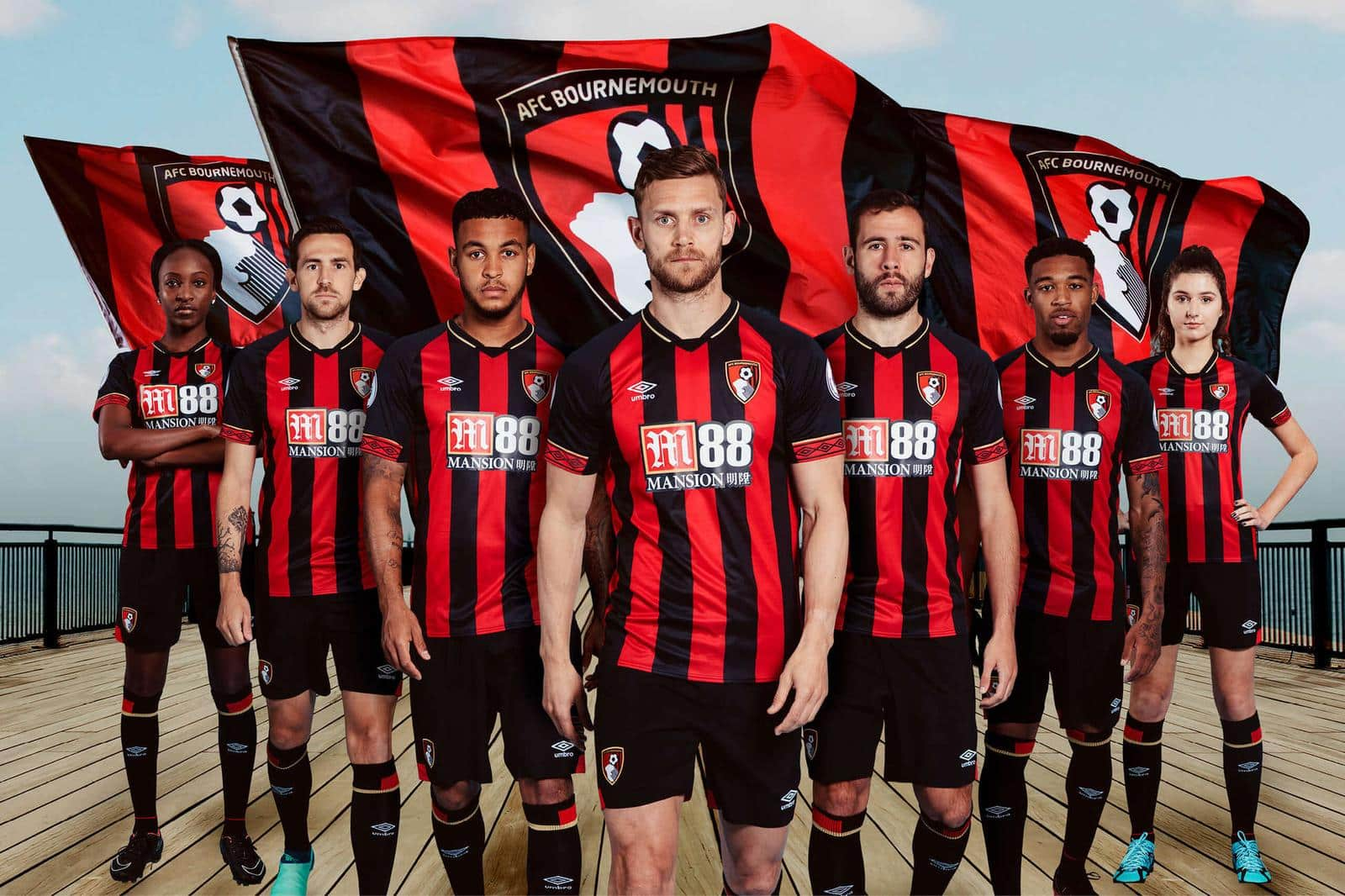 maillot-afc-bournemouth-2018-2019