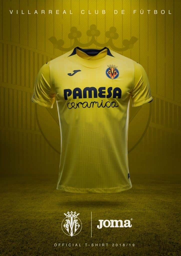 maillot-domicile-villareal-2018-2019-joma