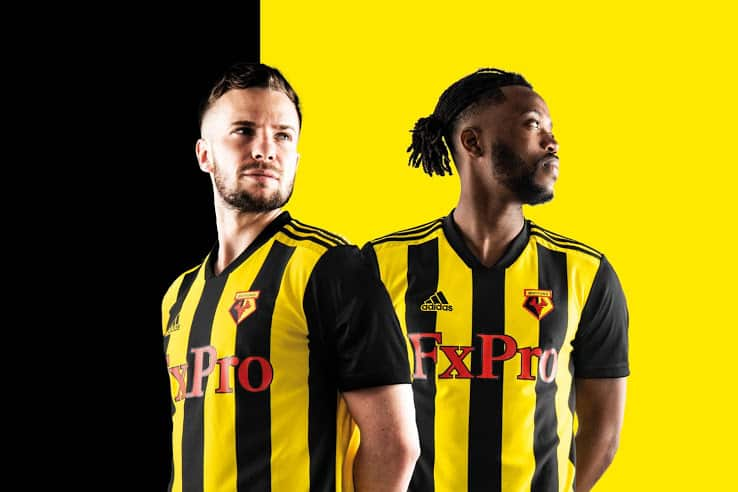 maillot-domicile-watford-2018-2019