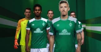 Image de l'article Les nouveaux maillots du Werder Brême 2018/2019 dévoilés par Umbro