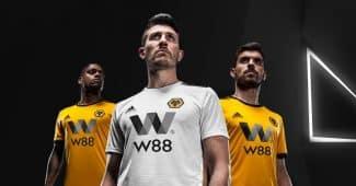 Image de l'article Les Wolves et adidas lancent les maillots 2018-2019