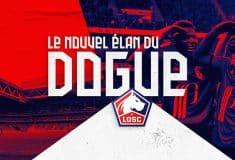 Image de l'article Le LOSC dévoile son nouveau logo