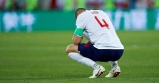 Image de l'article L'équipe d'Angleterre mise à l'amende par la Fifa à cause de chaussettes non autorisées