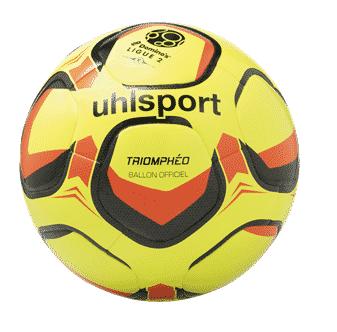 ballon-ligue-2-triompheo-2018-2019-uhlsport