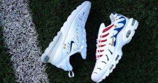 Image de l'article Nike célèbre Kylian Mbappé et le titre de champion du monde avec deux paires de Air Max en son honneur