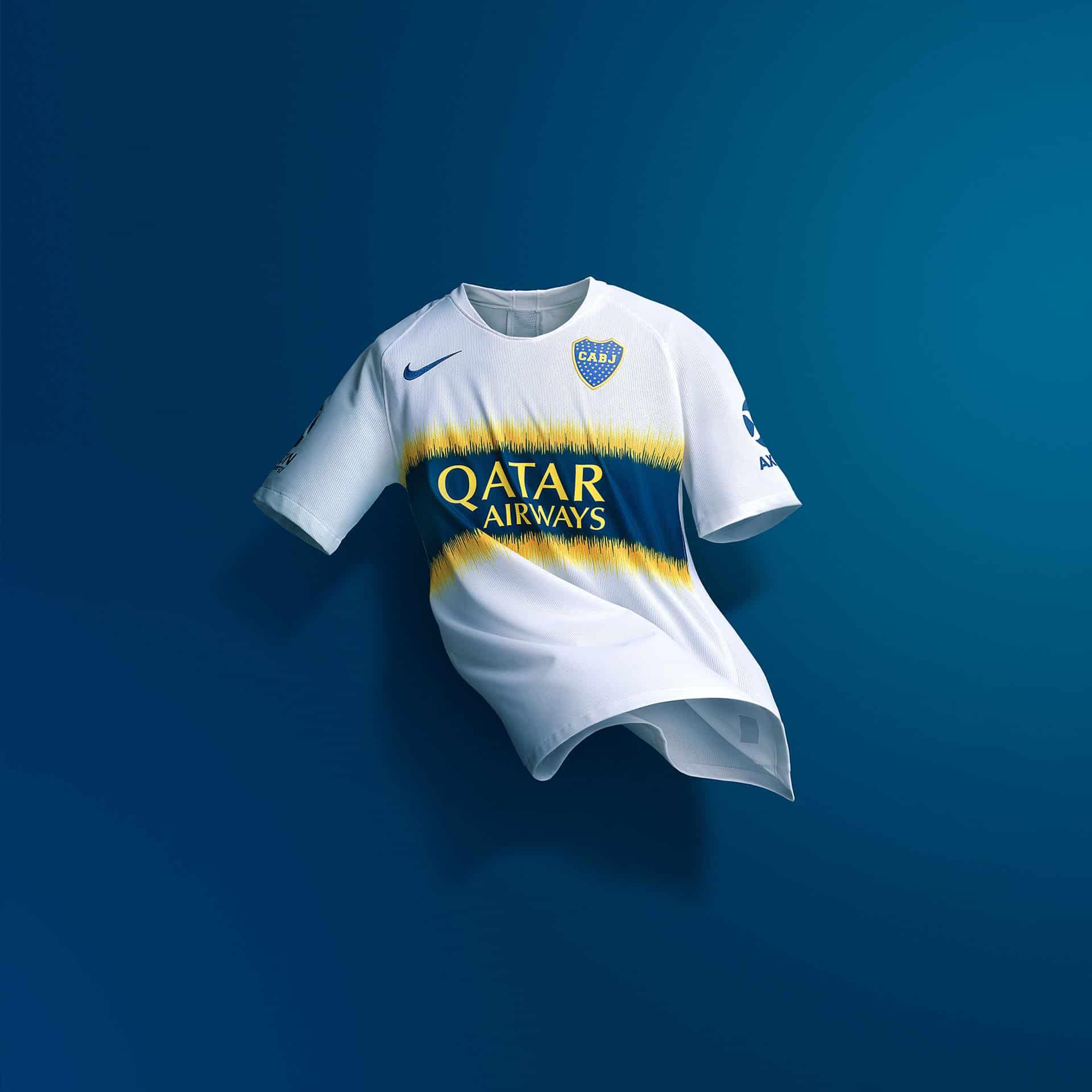 Nike dévoile les maillots 2018 2019 de Boca Juniors