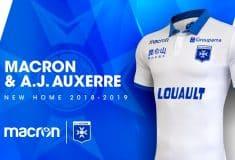 Image de l'article L'AJ Auxerre et Macron dévoilent les maillots 2018-2019