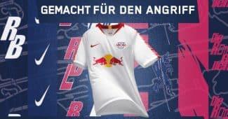 Image de l'article Nike dévoile les maillots 2018-2019 du RB Leipzig