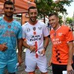 Les nouveaux maillots 2018-19 du FC Lorient par Kappa