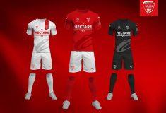Image de l'article Le Nîmes Olympique et Puma présentent les maillots 2018-2019