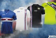 Image de l'article Joma dévoile les maillots 2018-2019 de la Sampdoria de Gênes