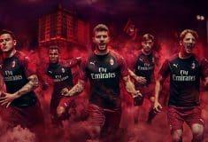 Image de l'article Puma dévoile les maillots 2018-2019 de l'AC Milan