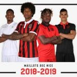 Macron et l'OGC Nice dévoilent les maillots pour la saison 2018-2019