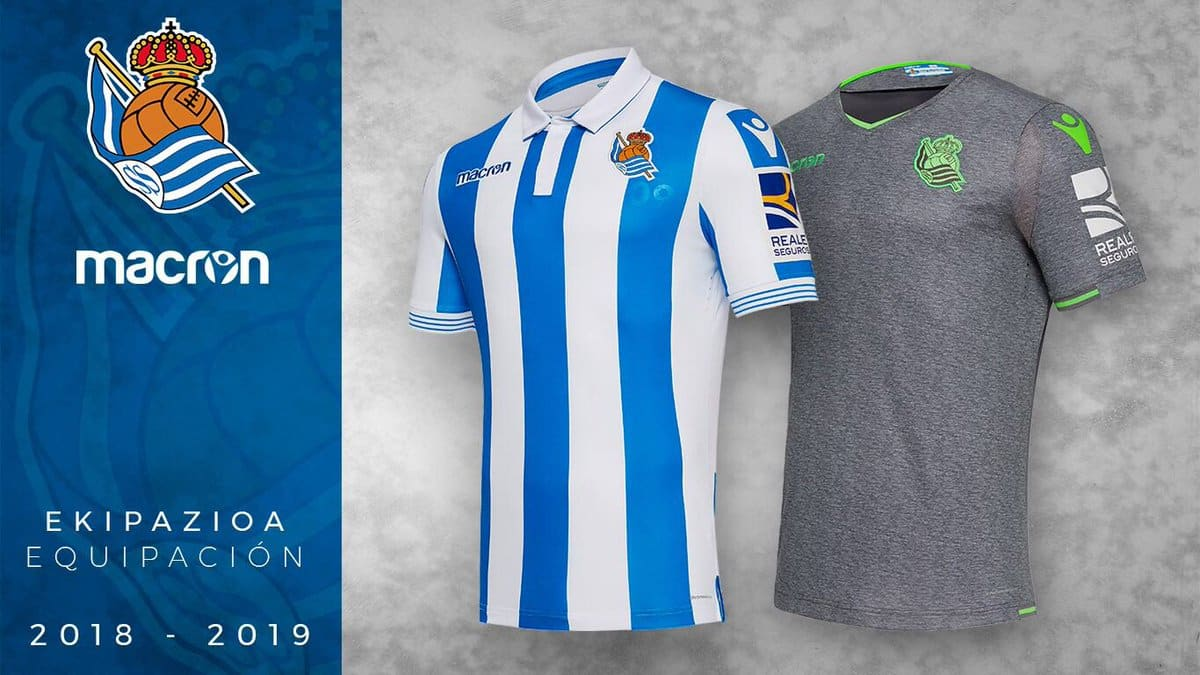 Maillot Domicile Real Sociedad pas cher