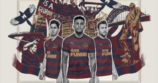 Image de l'article Newcastle dévoile ses maillots Puma pour la saison 2018-2019