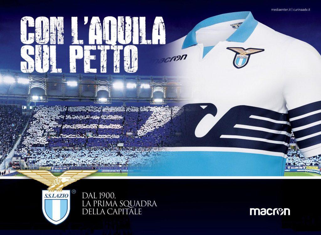 maillots-football-macron-lazio-rome-2018-2019-juillet-2018