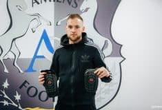 Image de l'article Footpack était à Amiens en fin de saison dernière pour faire découvrir les produits G-Form aux joueurs