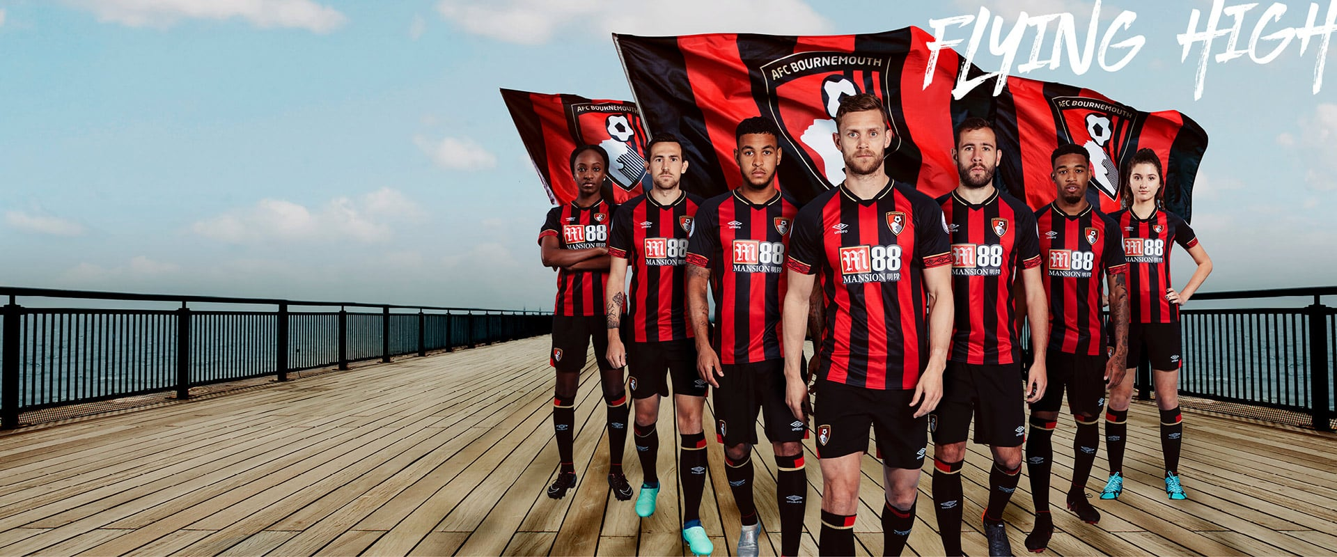 maillot-bournemouth-umbro-2018-2019