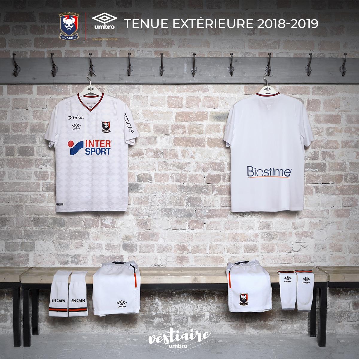 maillot-caen-umbro-2018-2019