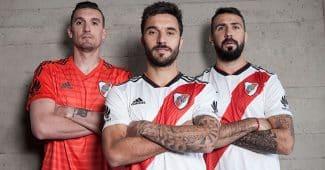 Image de l'article adidas et River Plate dévoilent les maillots 2018-2019