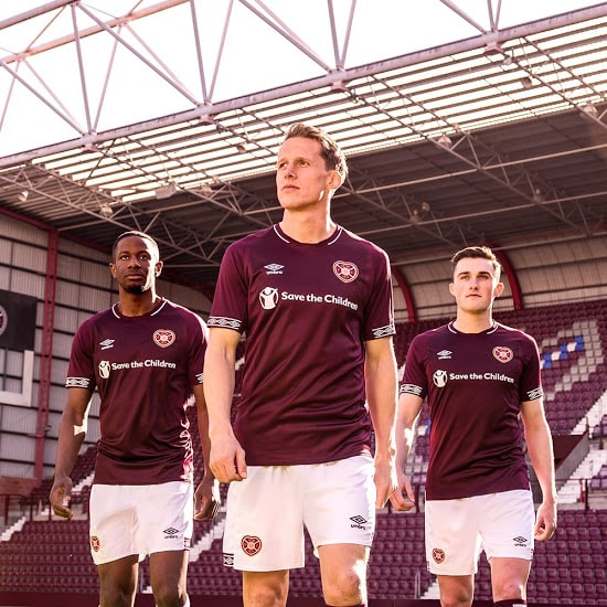 maillot-heart-of-middolthians-umbro-2018-2019