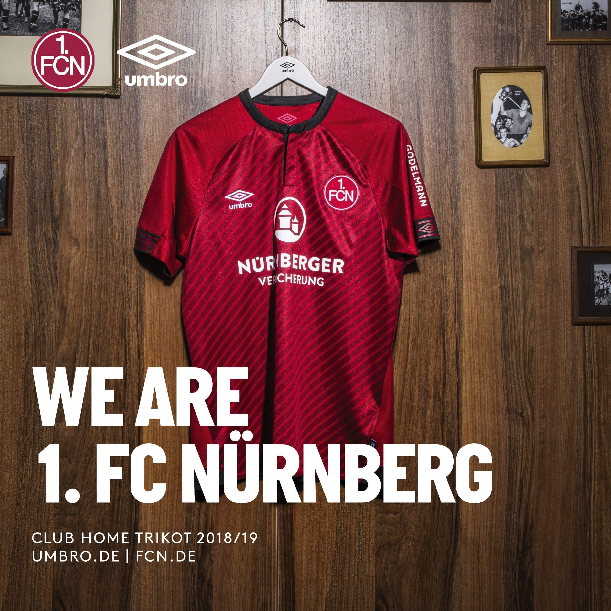 maillot-nuremberg-umbro-2018-2019