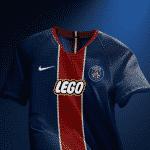 Graphic UNTD réinvente les sponsors sur les maillots du Paris Saint-Germain