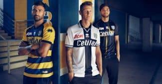 Image de l'article Parme dévoile ses maillots Errea pour 2018-2019