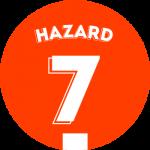 Les équipements de Eden Hazard
