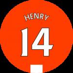 Les équipements de Thierry Henry