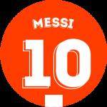 Les équipements de Lionel Messi