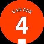 Les équipements de Virgil Van Dijk