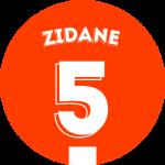 Les équipements de Zinedine Zidane