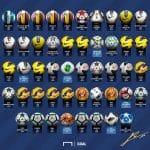 Les 48 ballons avec lesquels Lionel Messi a réalisé un triplé!