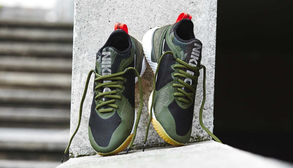 chaussures-sneakers-nike-fc-react-black-kaki-green 4