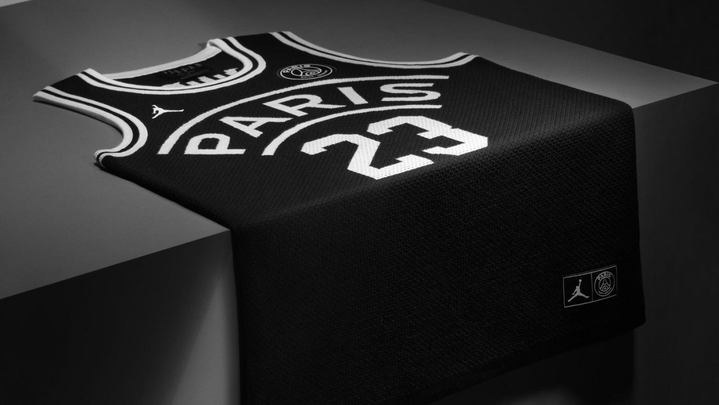 Le PSG et Air Jordan collaborent autour d'une collection