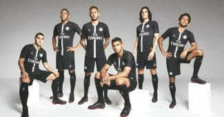 Image de l'article Le Paris Saint-Germain et Air Jordan présentent les maillots Ligue des Champions 2018-2019