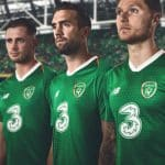 New Balance dévoile les maillots de l'Irlande pour 2018/19