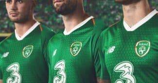 Image de l'article New Balance dévoile les maillots de l'Irlande pour 2018/19