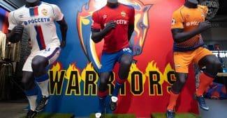 Image de l'article Umbro et le CSKA Moscou dévoilent les maillots 2018-2019