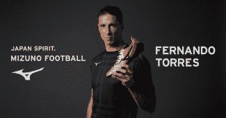 Image de l'article #BootsMercato : Fernando Torres, nouvel ambassadeur de Mizuno