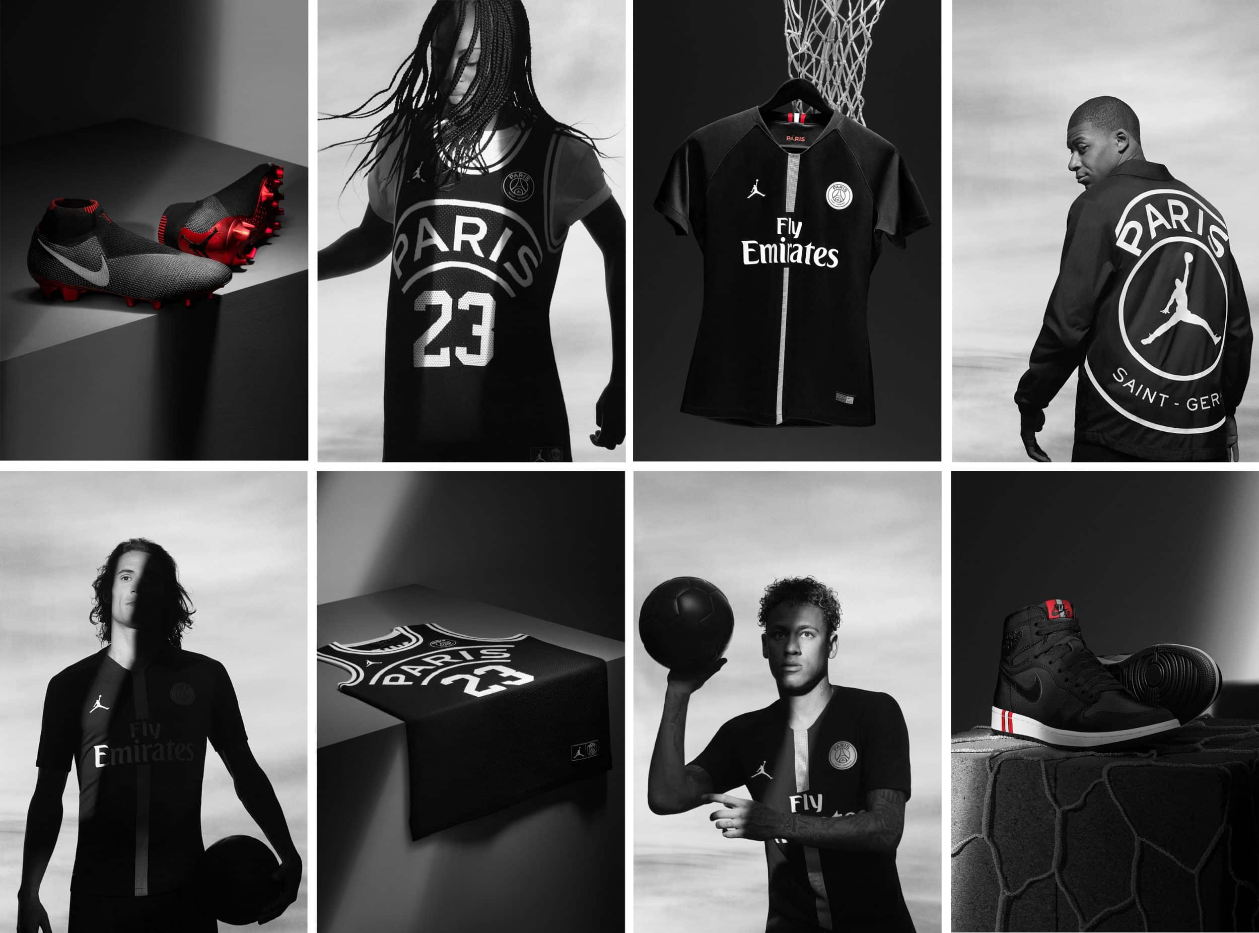 best price good texture online here Le PSG et Air Jordan collaborent autour d'une collection ...
