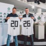 adidas et l'équipe d'Allemagne prolongent leur partenariat