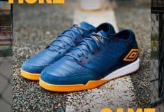 Image de l'article Umbro dévoile un nouveau coloris pour sa chaussure de futsal : La Chaleira Pro