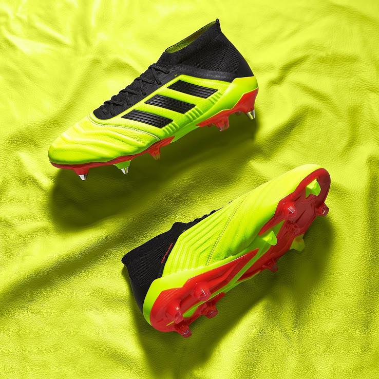 adidas-predator-18.1-cuir-jaune-rouge