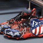 Les chaussures personnalisées d'Antoine Griezmann par Orravan Design