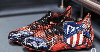 Image de l'article Les chaussures personnalisées d'Antoine Griezmann par Orravan Design