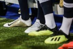 Image de l'article Les chaussures des 23 Bleus pour les matchs face à l'Islande et l'Allemagne