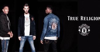 Image de l'article Manchester United et True Religion lancent une gamme mode!